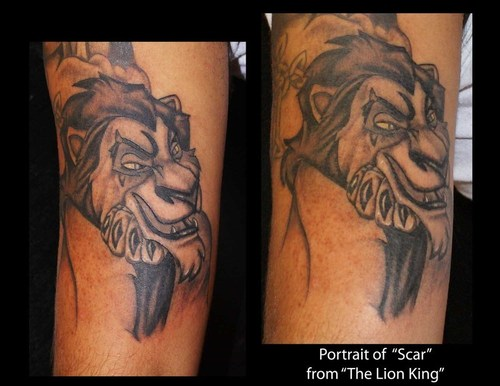 tattoo tuesday the joker and scar tats. Black Bedroom Furniture Sets. Home Design Ideas