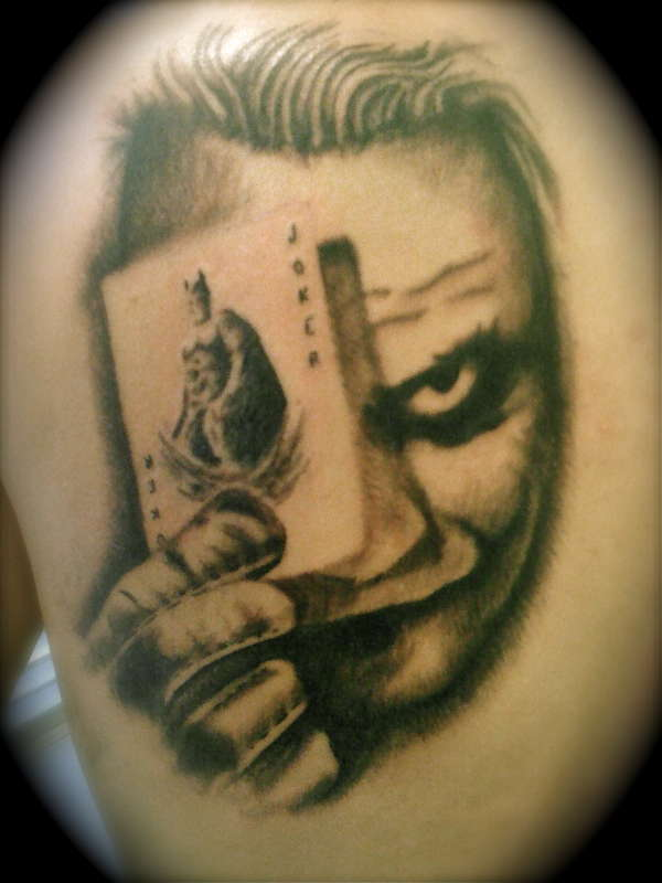 joker tattoo designs pictures - photo #36