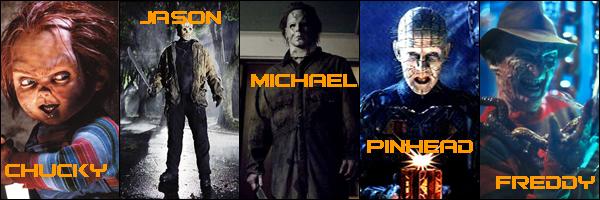 Freddy Vs Jason Vs Chucky Vs Michael Myers Vs Pinhead Tribute Thursday: The ...