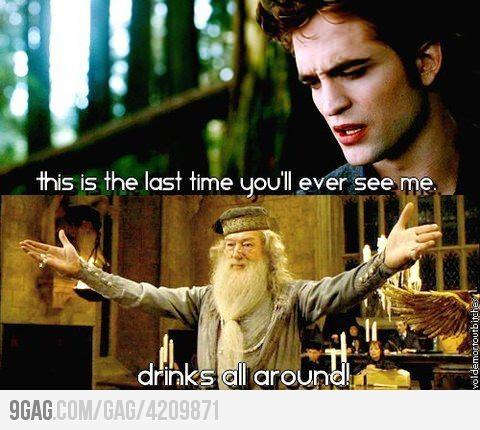 potter funnies twilight Harry
